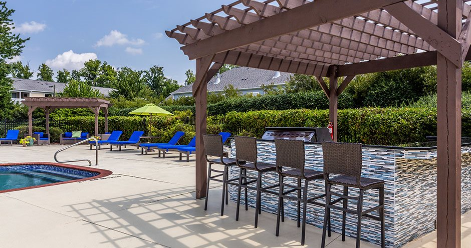 Relax outside at Haven at Research Triangle Park