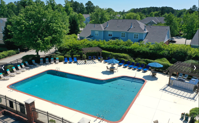 Cool off this summer at the Haven at Research Triangle Park's Sparkling Swimming Pool