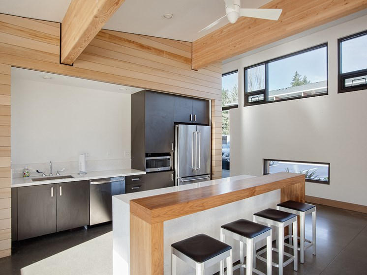 Cedar Hills - clubroom kitchen 1