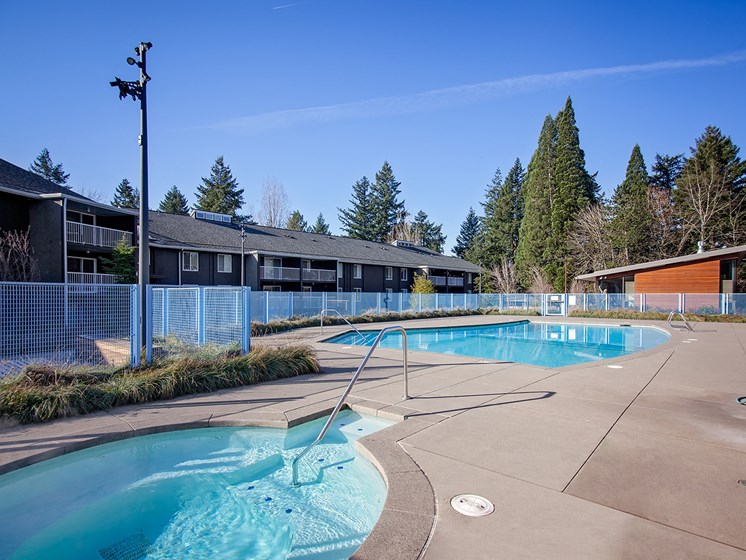 Cedar Hills - pool and hot tub