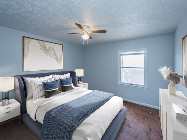Bedroom at Pine Plaza in Winchester, 22601