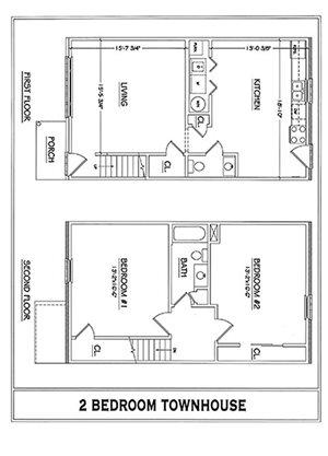 2 Bedroom 1 Bath Duplex in Winchester, VA 22601