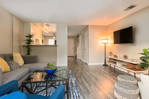 living room |Nola624 Apts