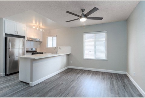 Kitchen and dining |Nola624 Apts