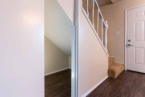 under stair storage  |Nola624 Apts in West Covina