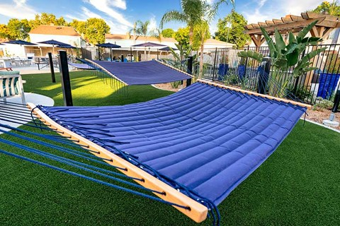 Hammock by grass  |Nola624 Apts in West Covina