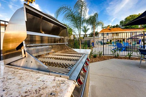 BBQ Area |Nola624 Apts in West Covina