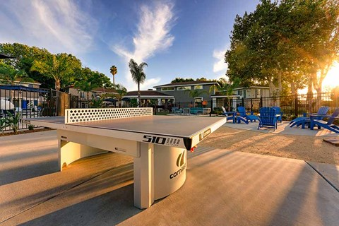 Outside Ping Pong Table  |Nola624 Apts in West Covina