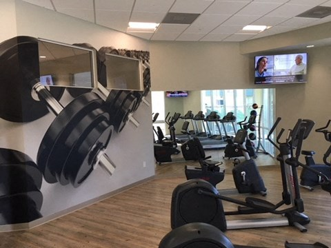 Gym with Weights and Cardio 91790 | |Nola624 Apts Homes