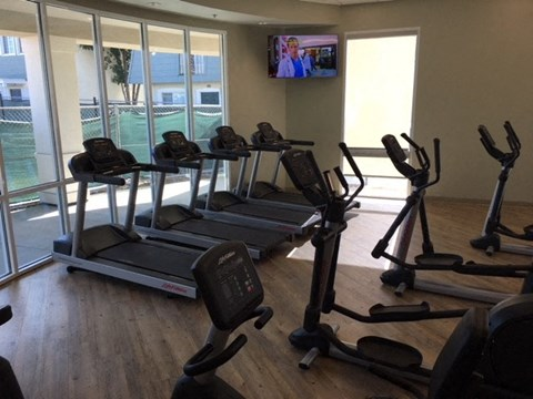 Gym with Weights and Cardio Nola624 Apartments | West Covina CA 91790