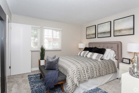 Bedroom with Window West Covina CA | |Nola624 Apts Rentals