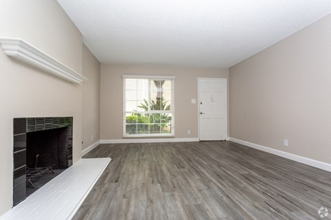 Living room with fireplace West Covina CA | |Nola624 Apts Rentals