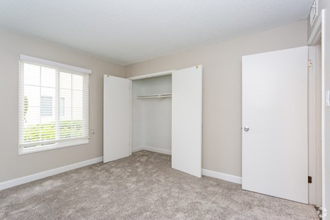 Bedroom with closet Lafayette Parc Apartments | West Covina CA 91790 For Rent