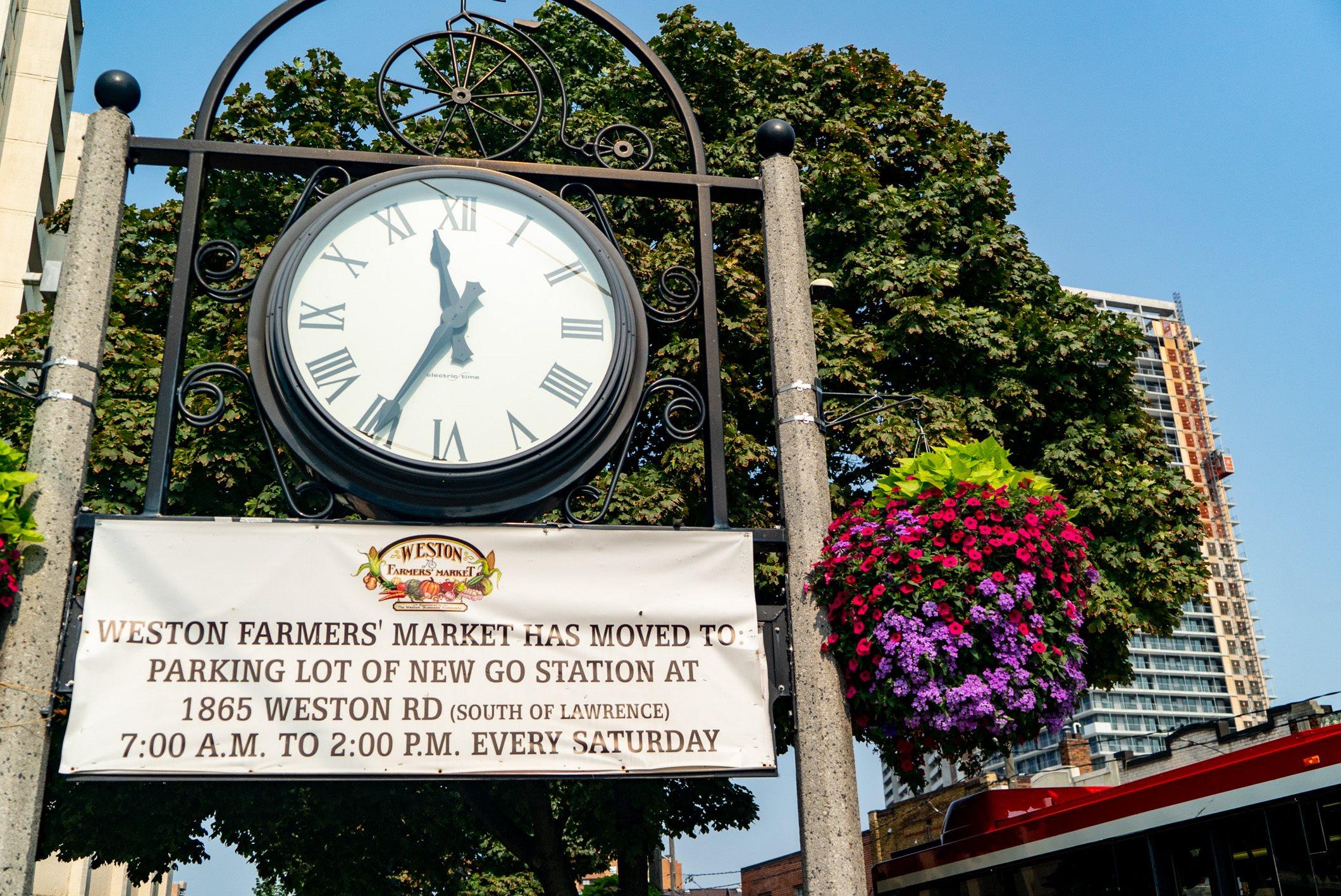Weston Village Clock