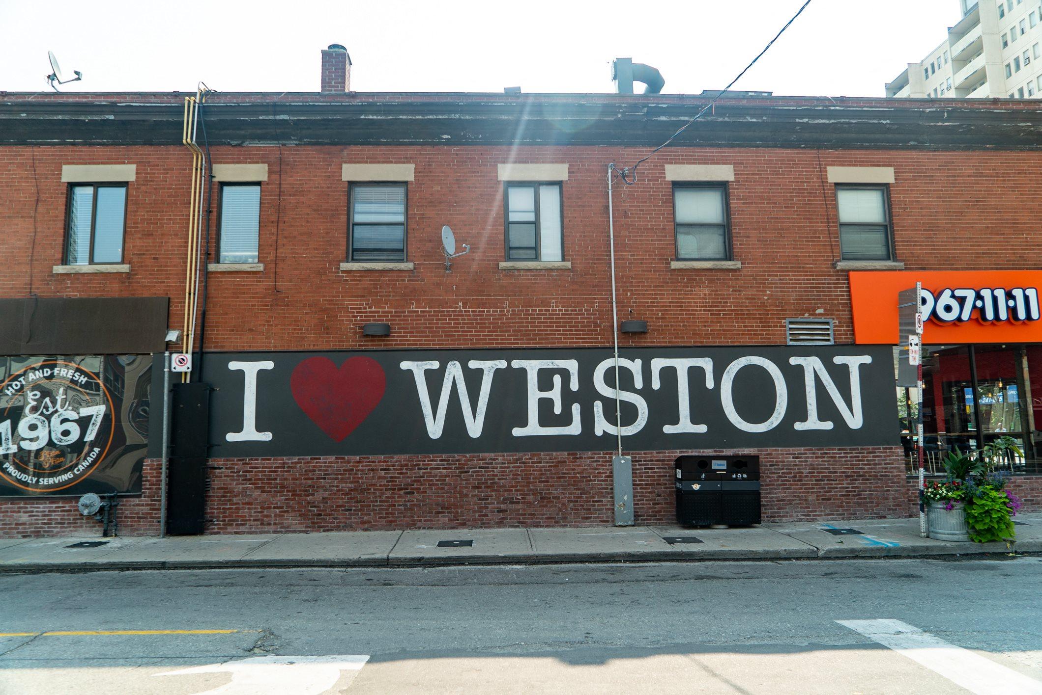 I Love Weston Art