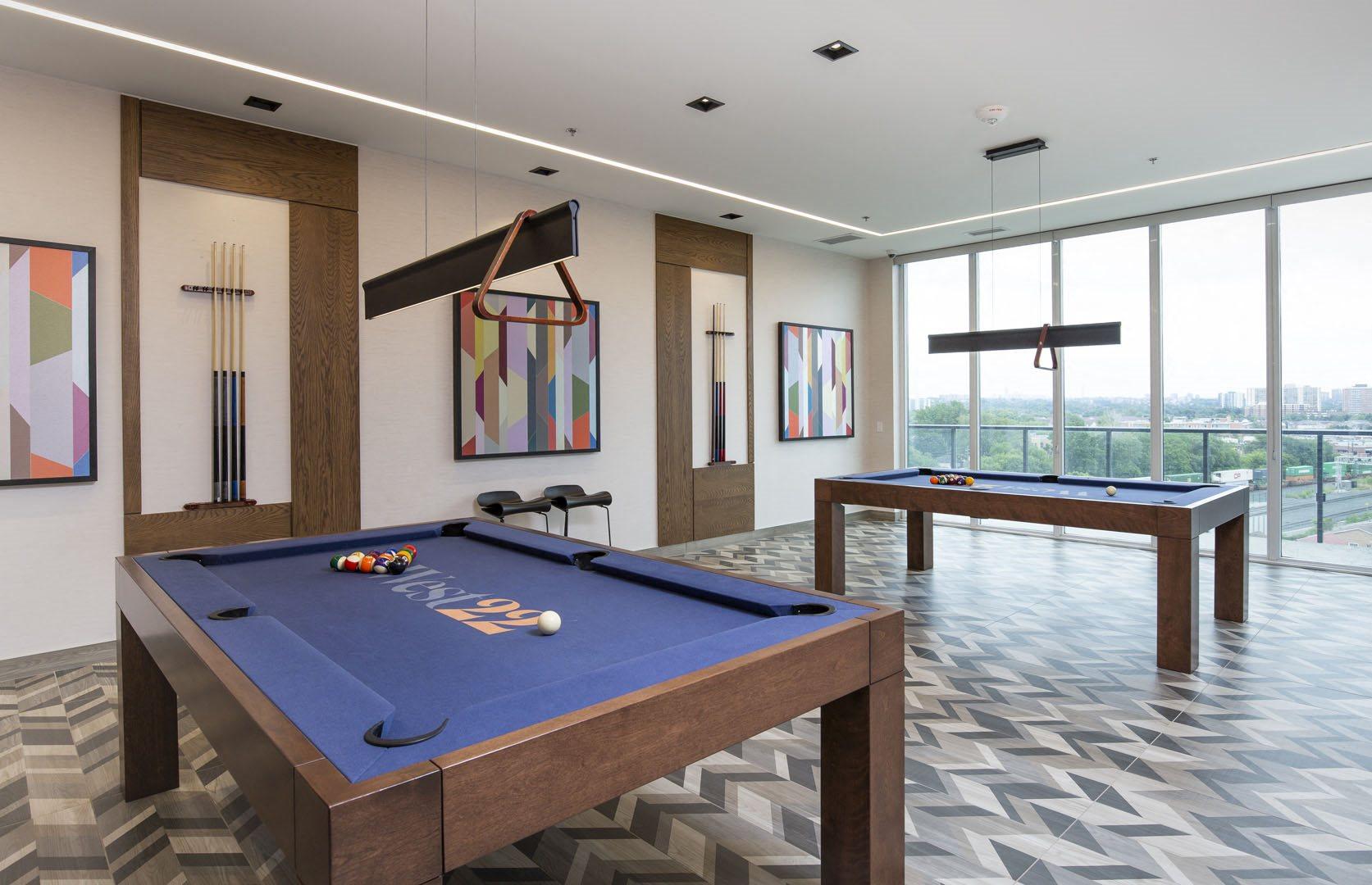 West22 Amenity - Games Room