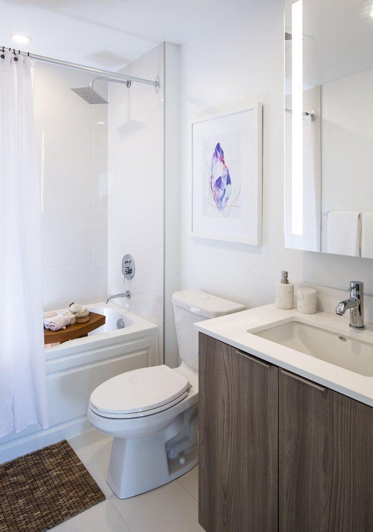 West22 Model Suite Bathroom