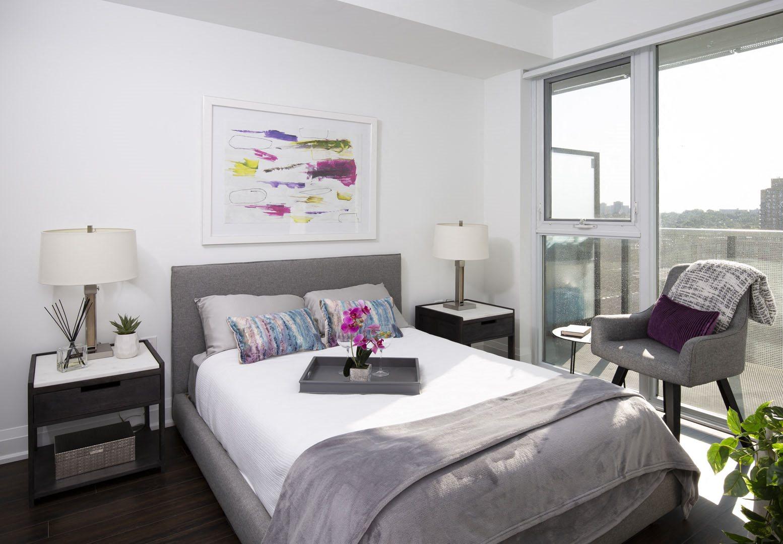 West22 Model Suite Bedroom