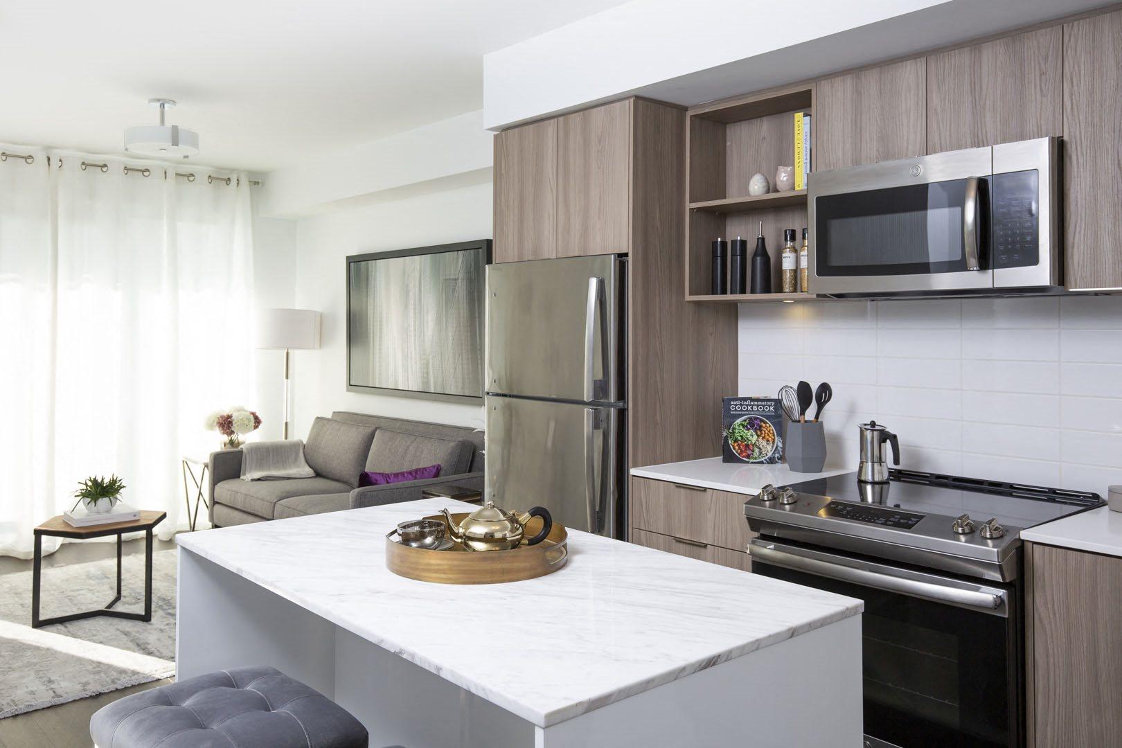 West22 Model Suite Kitchen
