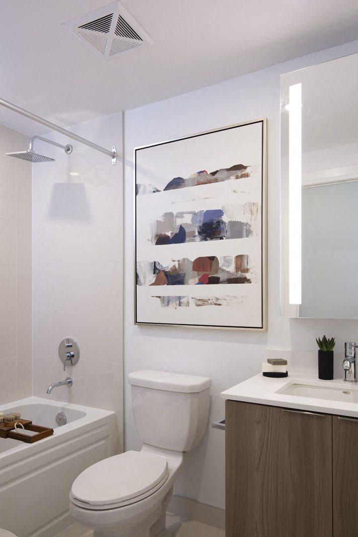 West22 Model Suite Washroom