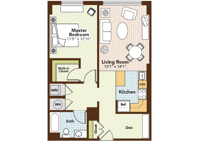 Celadon Floor Plan