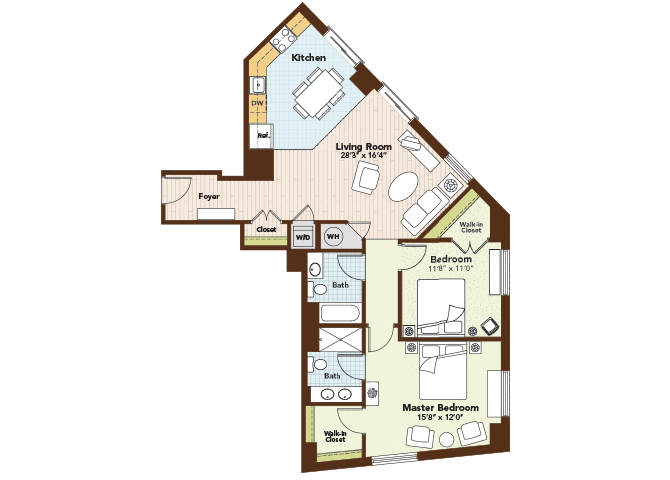Amethyst Floor Plan