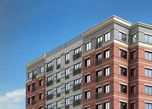 Argent Apartments exterior rendering 2