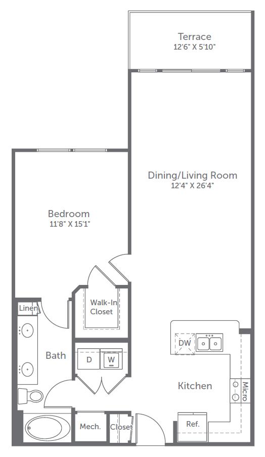 1 bedroom river oaks apartments