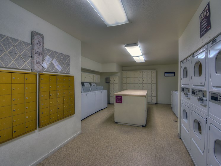 Onsite Laundry Facilities