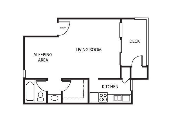 Cottonwood floor plan.