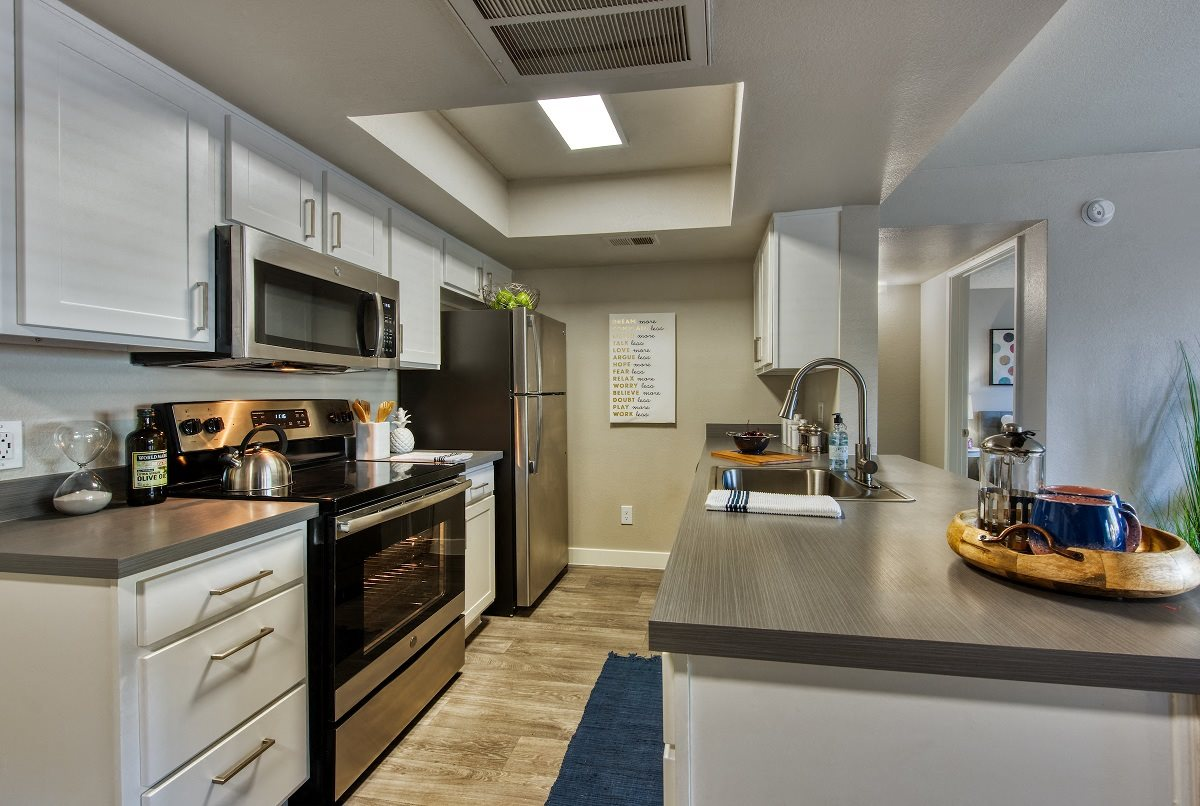 Fully Equipped Kitchen at The Nolan in Mesa, AZ