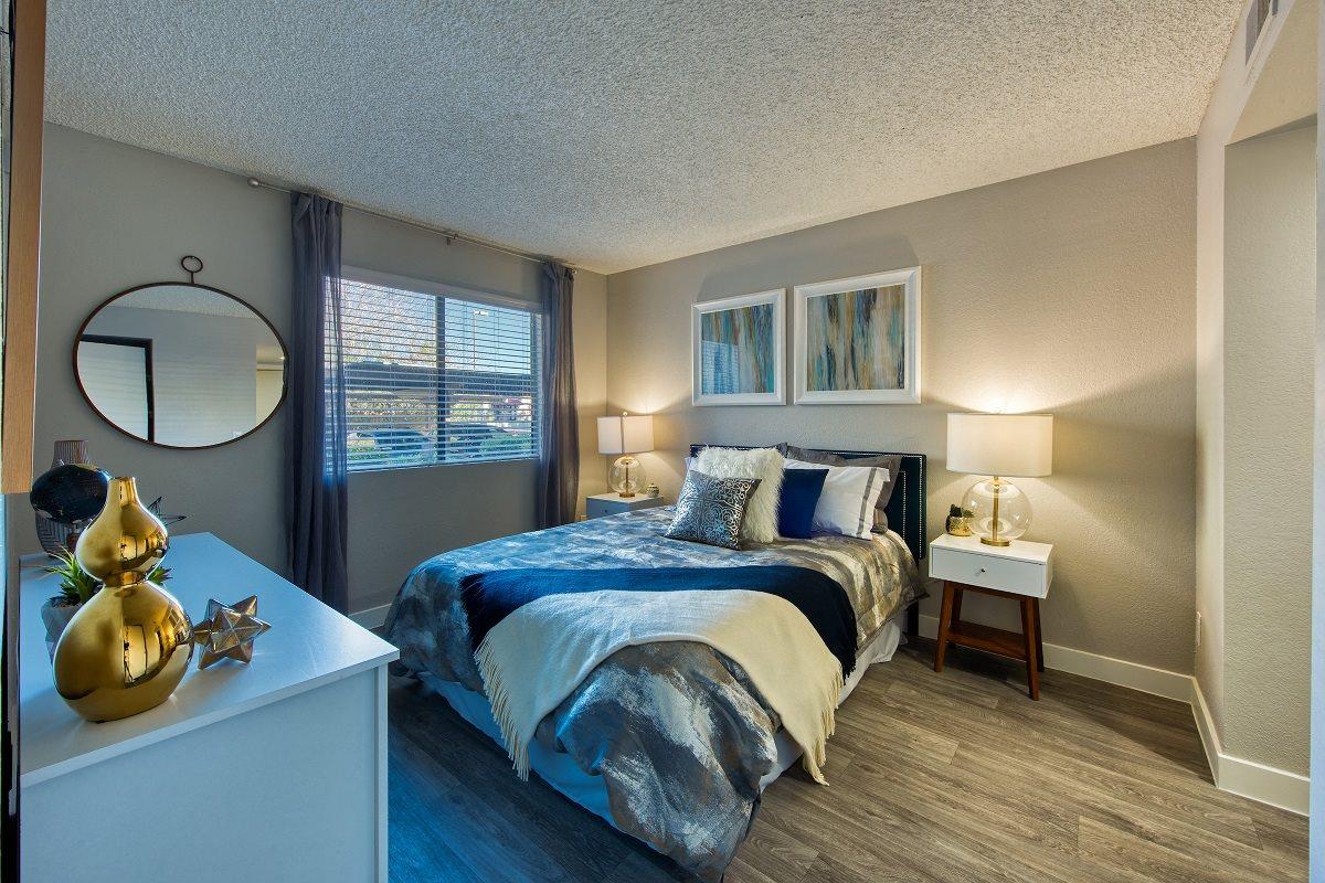Cozy Bedroom at The Nolan in Mesa, AZ