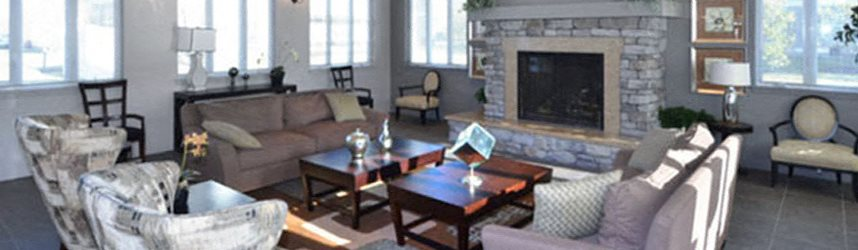 Community Lounge at Quail Run Apartments in Stoughton, MA 02072