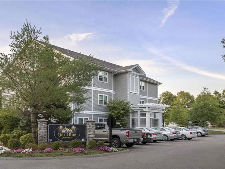 On-Site Parking Available at Quail Run Apartments in Stoughton, MA