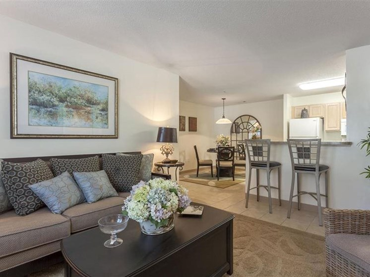 Comfortable Living Spaces at Quail Run Apartments in Stoughton, MA