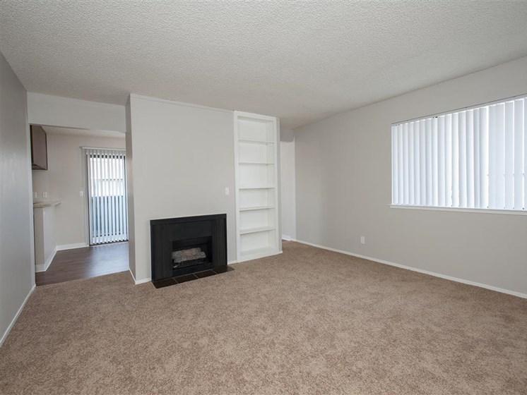 Salinas CA Apartments - Woodside Park Apartments Living Room