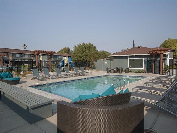 Apartments in Salinas CA - Woodside Park Apartments Swimming Pool