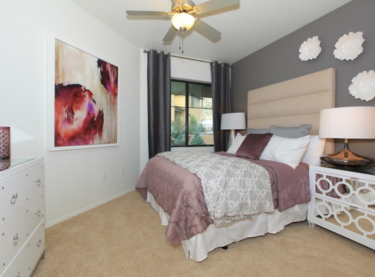 Bedroom at Elevation Apartments in Flagstaff, AZ