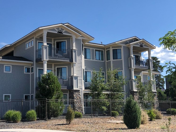 Exterior & Landscaping at Elevation Apartments in Flagstaff, AZ