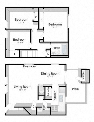 Three Bedroom Townhome Mishawaka
