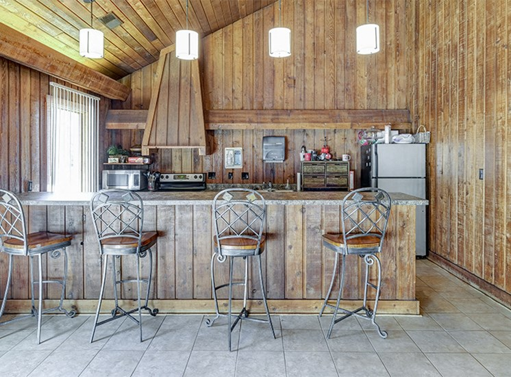 Clubhouse Kitchen at The Woods of Eagle Creek