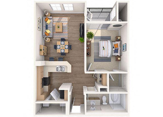 Centennial Floor Plan at Waterford at Peoria, Arizona, 85381