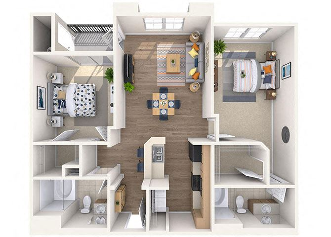 Sundance Floor Plan at Waterford at Peoria, Peoria, 85381