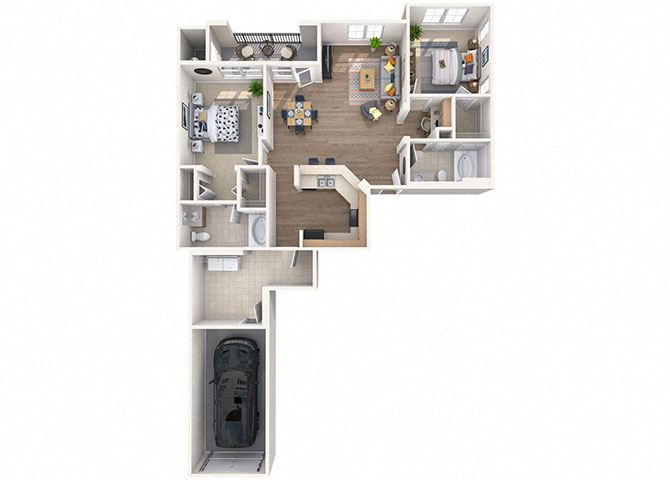Sweetwater Floor Plan at Waterford at Peoria, Peoria