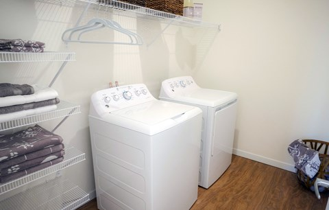 In-Home Washer & Dryer