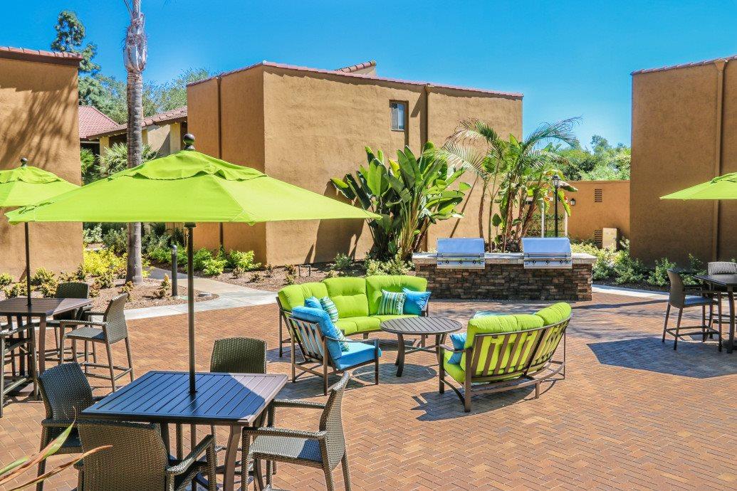 Amazing Outdoor Spaces at Corte Bella, Fountain Valley, CA