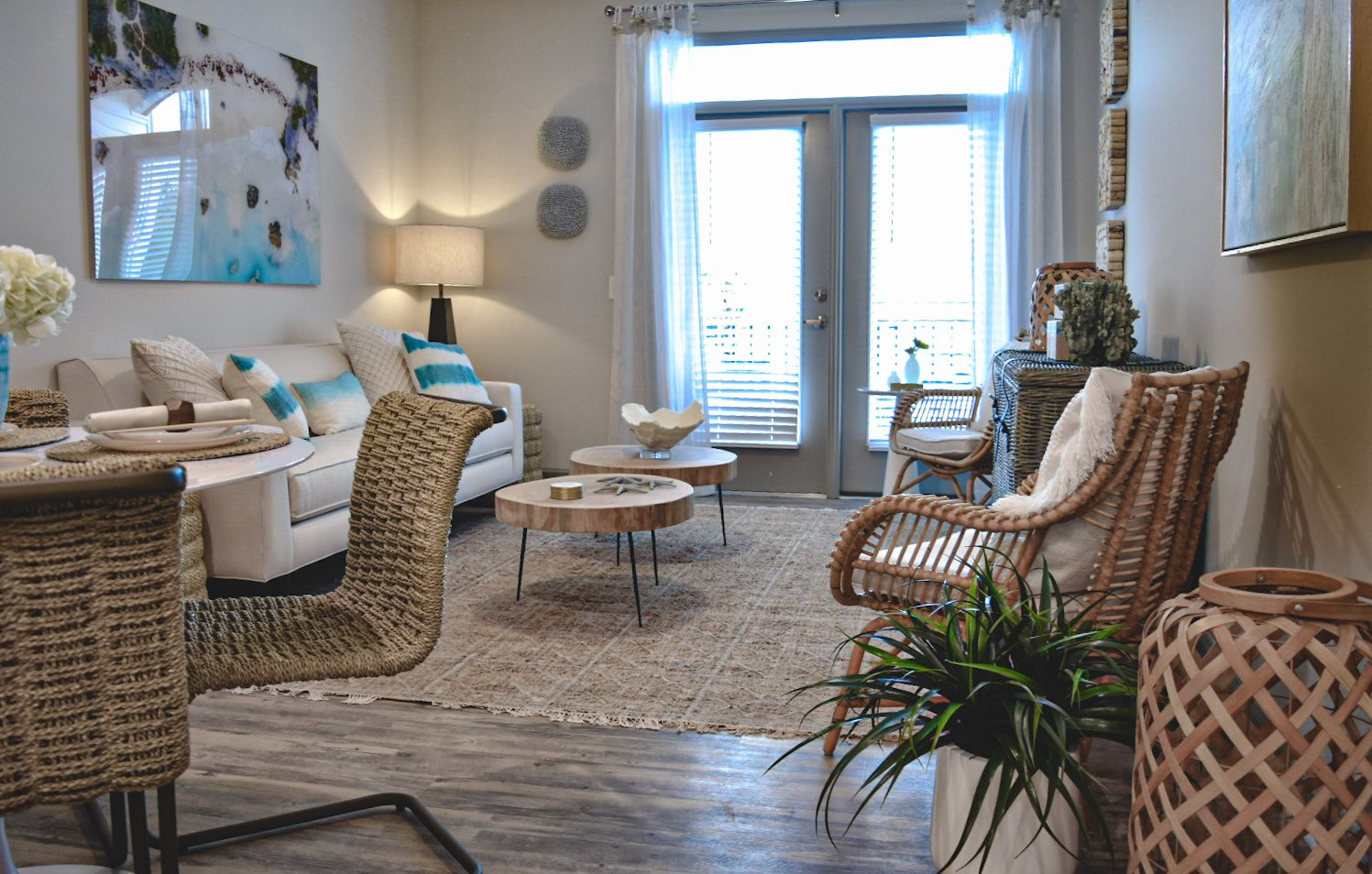 Beautifully decorated apartment in Wilmington NC Hawthorne at Smith Creek