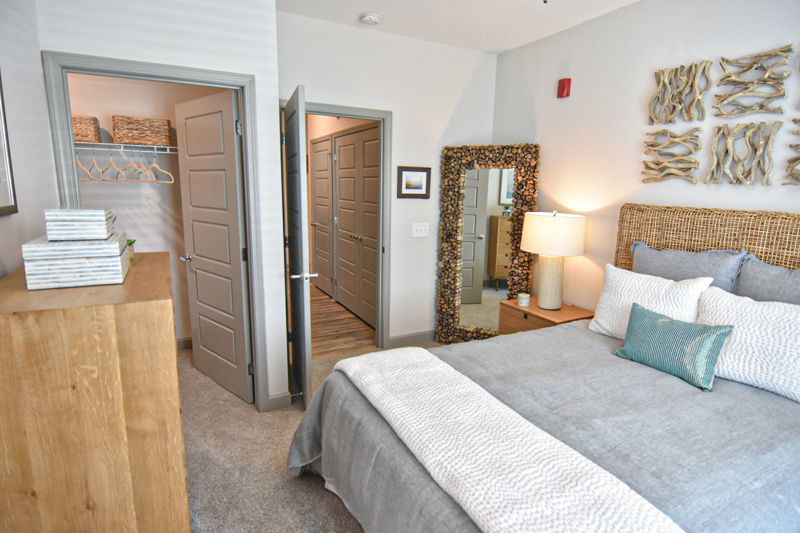 Master suite with private bathroom and walk-in closet wilmington nc