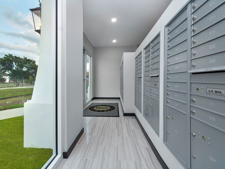 Know your packages are secure and never miss a delivery with Package Concierge Service Lockers at The Edison Apartments, Fort Myers, FL 33905