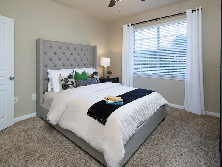 Amble room for plenty of bedroom furniture and space at The Berkeley Apartment Homes, Duluth, GA 30096